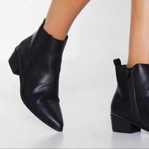 NASTY GAL Get a Move on Chelsea Booties